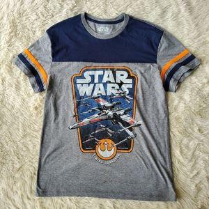 🎉Star Wars tshirt xwing squadron  medium